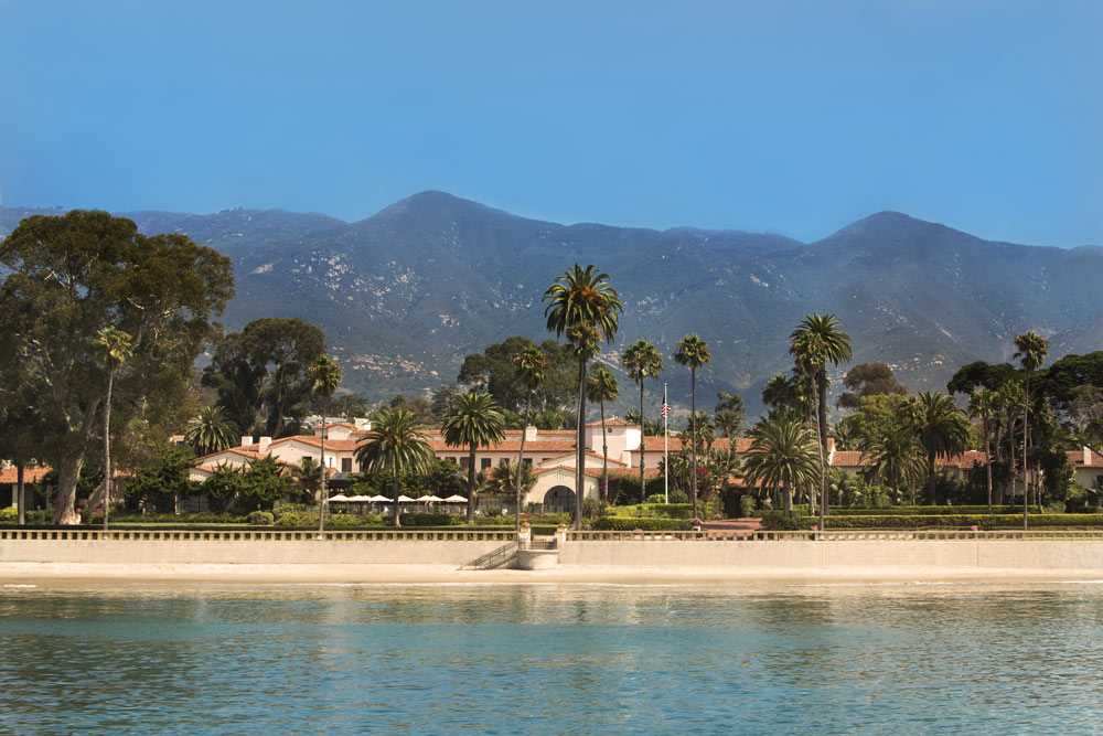 Overview of Beach at Four Seasons Santa Barbara Biltmore