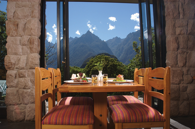 Machu Picchu Sanctuary Lodge Restaurant
