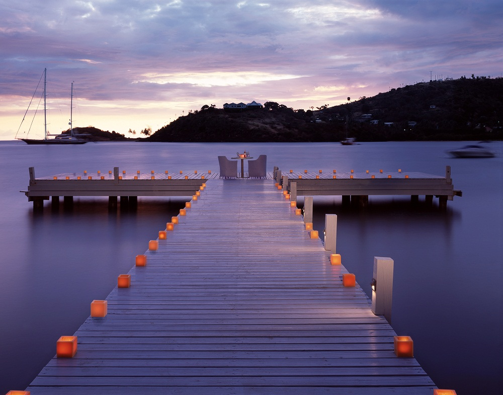 Carlisle Bay Private Jetty Dining