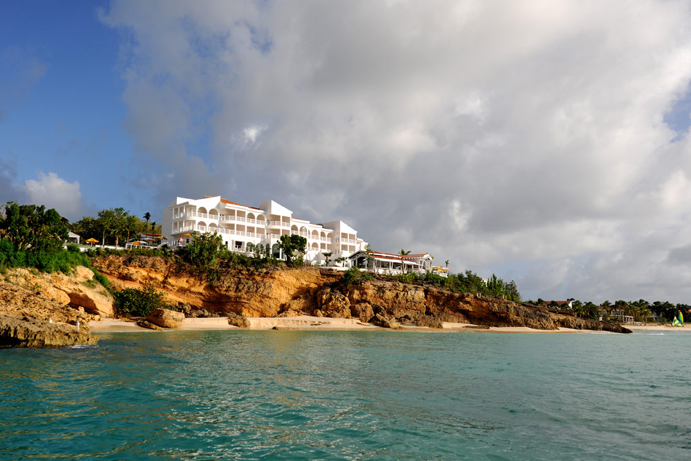 Panoramic Bluff Overlooking the Caribbean at Malliouhana Hotel And Spa