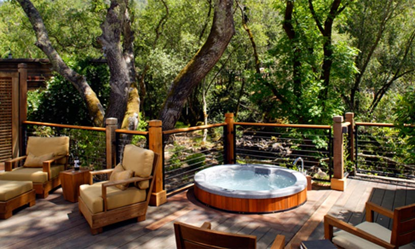 Oak Creek Lodge with Spa at The Calistoga Ranch