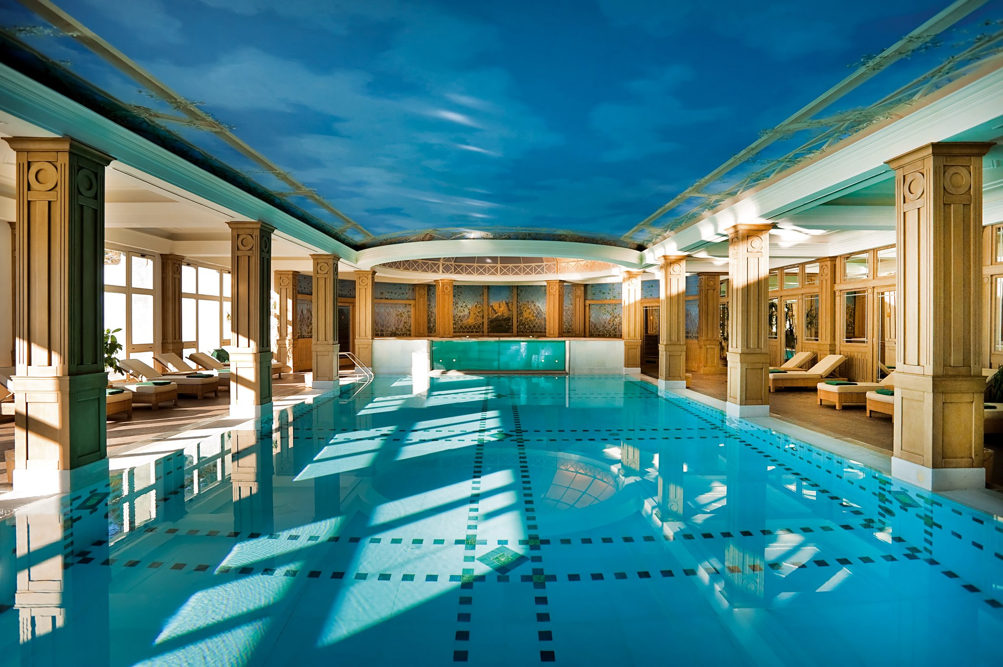 Cristallo Palace Hotel and Spa Indoor Pool
