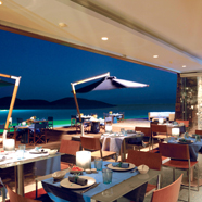 Dining at Elounda Bay Palace, Greece