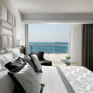 Presidential Suite Guestroom at Divani Apollon Palace And Spa, Greece