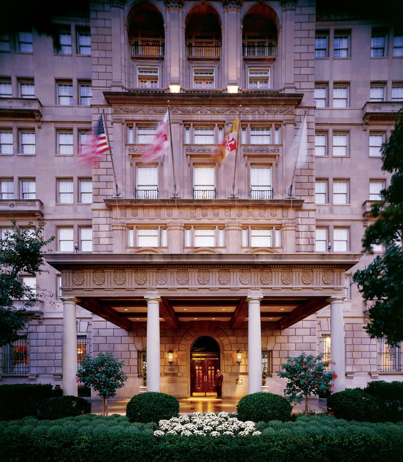 Exterior of the Hay-Adams Hotel