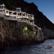 Riccio Beach Club Restaurant at Capri Palace Hotel and Spa, Italy