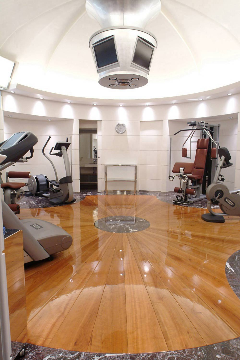 Fitness Center at Hotel Majestic Roma, Italy