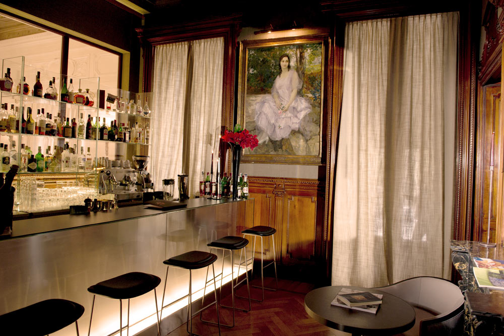 Majestic Bar at Hotel Majestic Roma, Italy