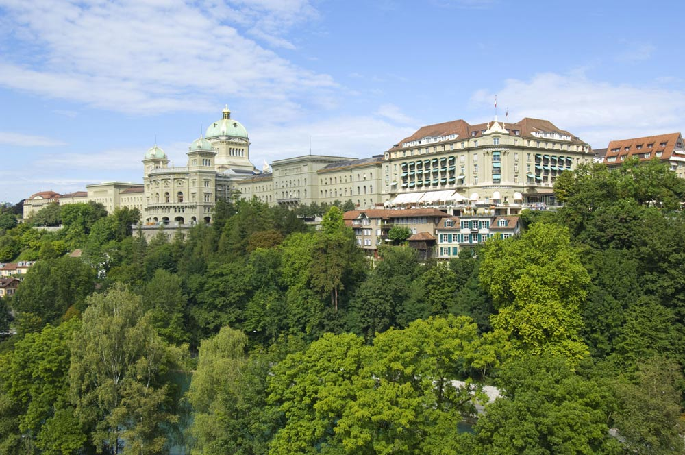 Bellevue Palace, Berne, Switzerland