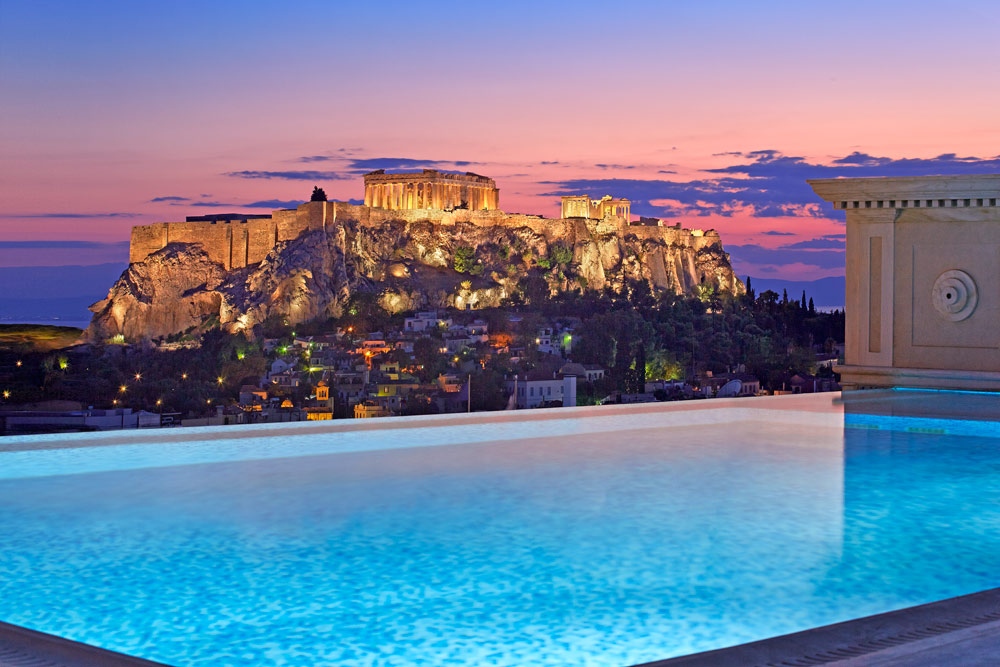 Book A Stay At King George Posted In Athens Featured Luxury Hotels
