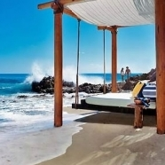 Floating Daybed on the Beach
