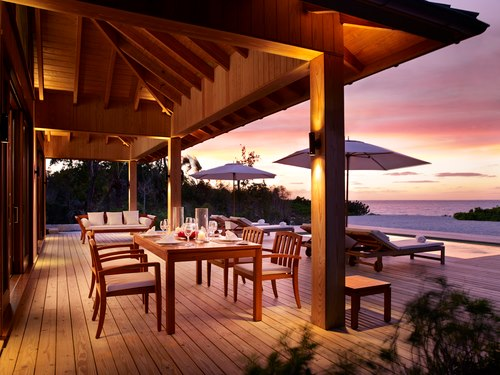 Parrot Cay Private Deck