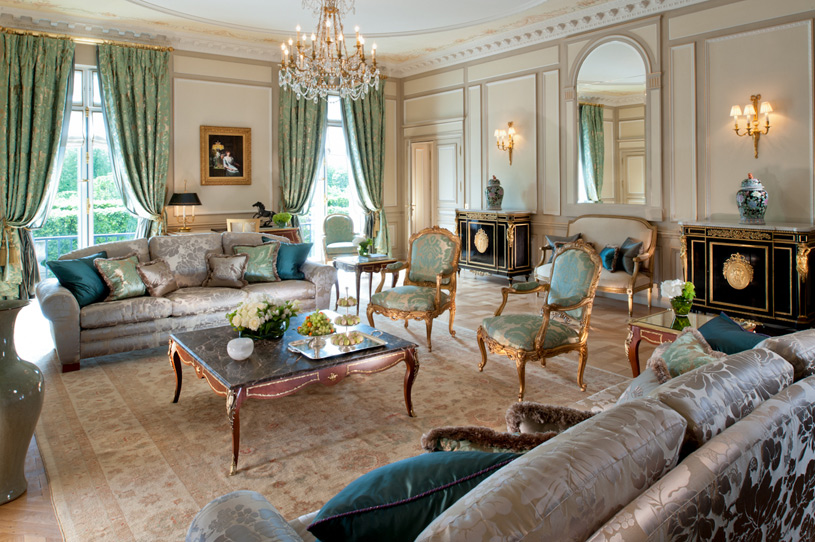 Hotel Le Meurice Presidential Apartment