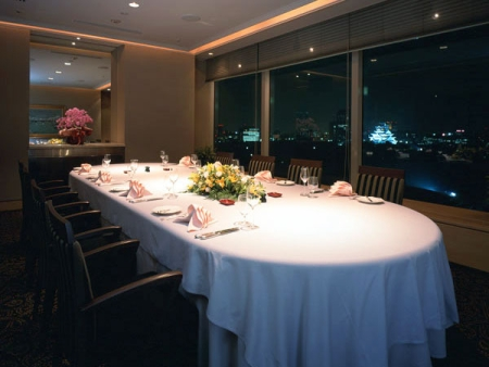 Private dining room in Sakura
