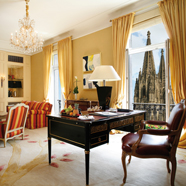 Excelsior Suite at Excelsior Hotel Ernst in Cologne, North-Rhein Westphalia, Germany