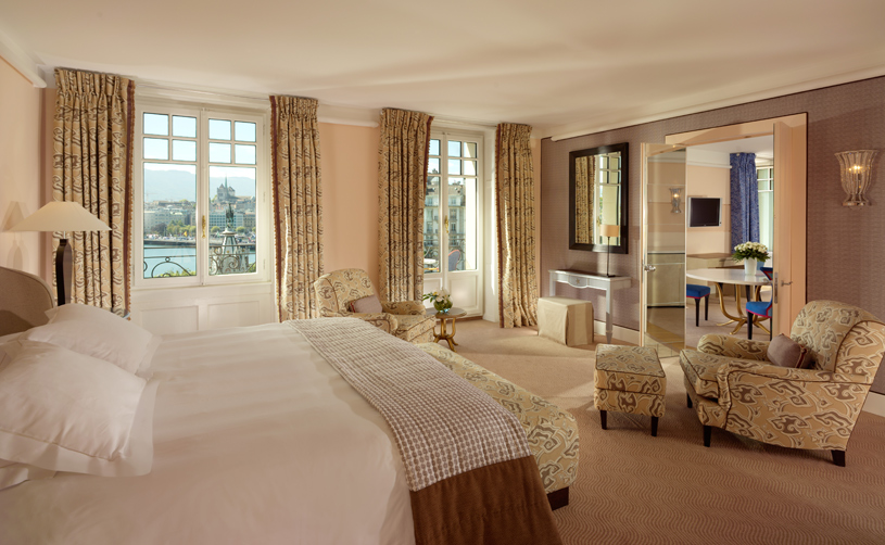 Master Suite Bedroom at Le Richemond