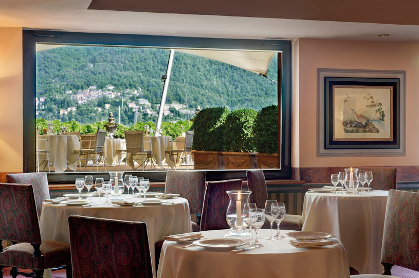 Grill Restaurant at The Villa d'Este Lake Como