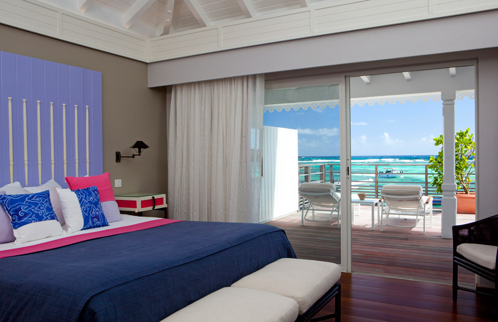 Guest Room with Ocean View at Guanahani Hotel