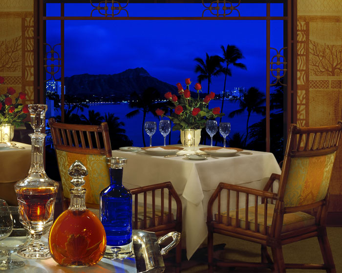 Dining al Fresco at Halekulani