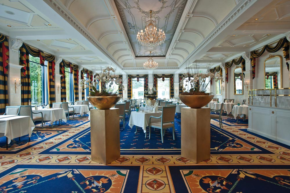 Restaurant Bel Air at Grand Hotel Quellenhof Bad Ragaz,  Switzerland