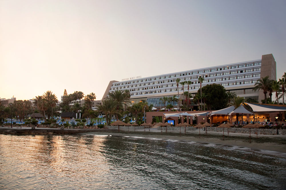 Overview of the Amathus Beach Hotel in Limassol