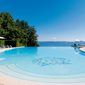 Outdoor Pool, Hotel Royal at Evian Resort, France
