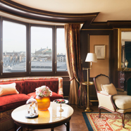 Deluxe Suite Living Room at Ritz Paris, France