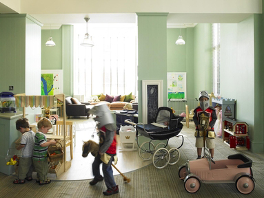 Gleneagles Hotel Playroom