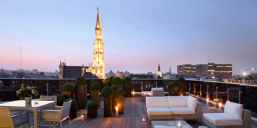 Rooftop Lounge at Warwick Brussels, Belgium