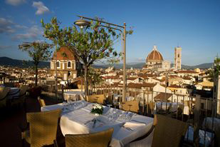 Grand Hotel Baglioni Outdoor Dining
