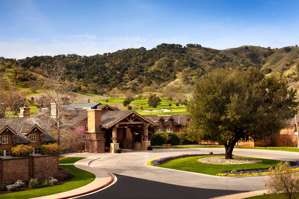 Exterior of CordeValle, a Rosewood Resort in San Martin, CA, United States