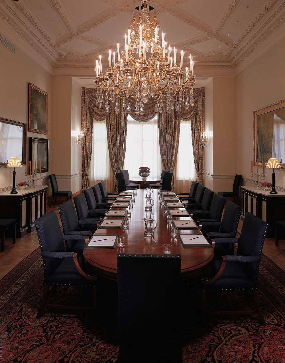Rosebury Meeting Room at Mandarin Oriental Hyde Park