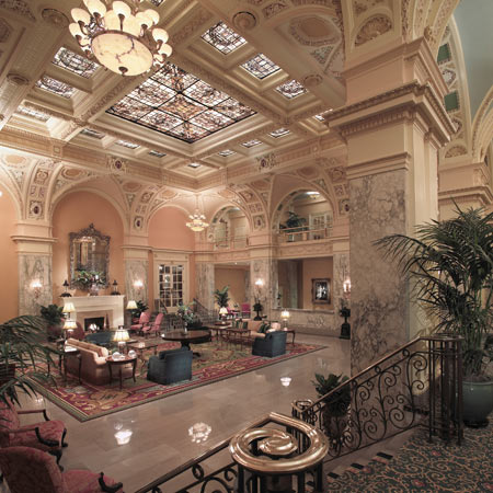 Answer The Hermitage Hotel