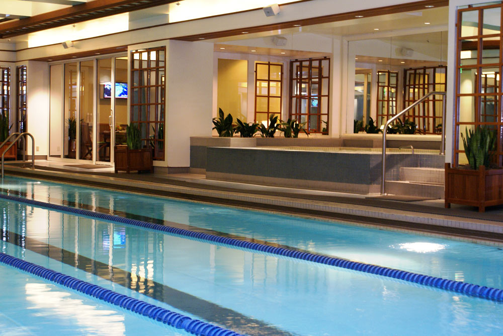 Indoor Pool at Boston Harbor Hotel, Boston, MA