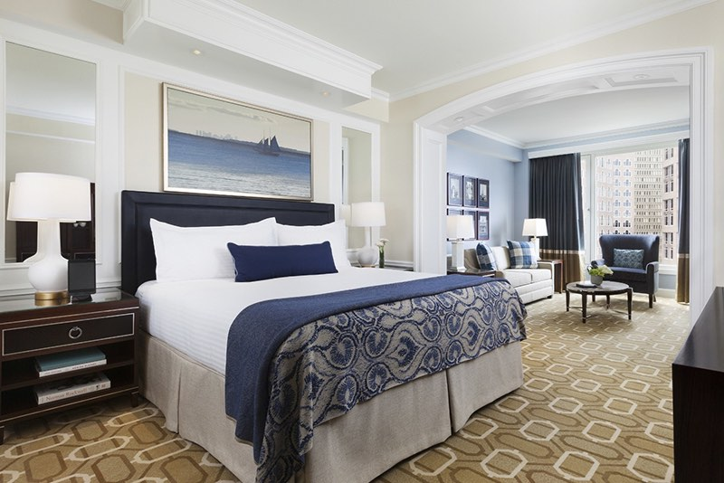 Presidential Suite at Boston Harbor Hotel