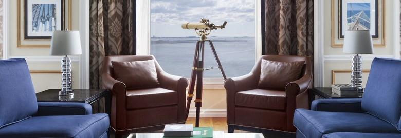 Presidential Suite at Boston Harbor Hotel