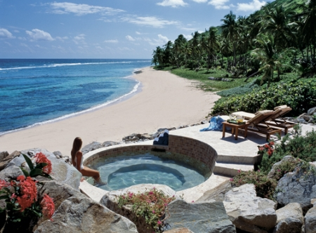 Beach Spa and Jacuzzi