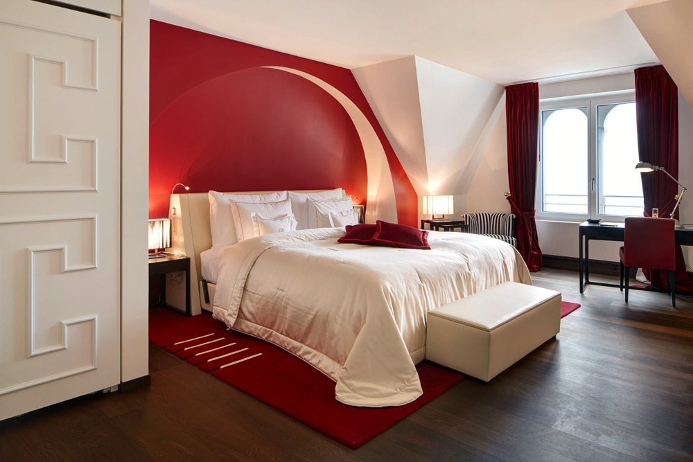 Deluxe Suite at Park Hotel Vitznau, Switzerland