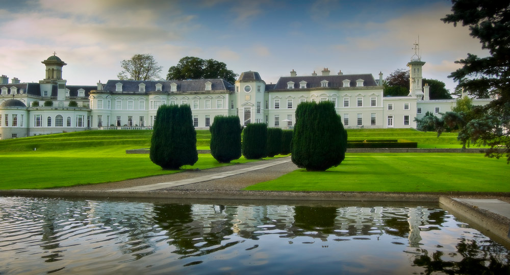 Exterior of The K Club, County Kildare, Ireland
