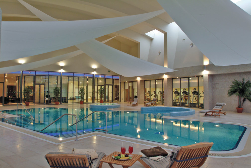 Indoor Pool at The K Club, County Kildare, Ireland
