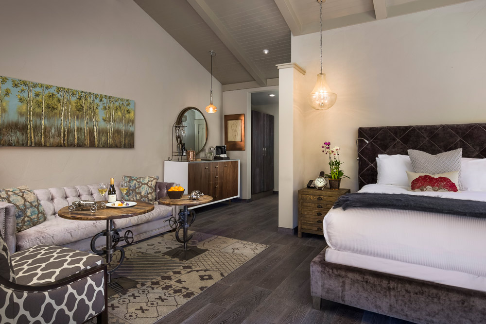 New Lux Room at Bernardus Lodge Carmel Valley, CA