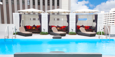 Pool at Le Meridien New Orleans