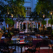 Evening Terrace Dining at The Ritz-Carlton, New Orleans, New Orleans, LA