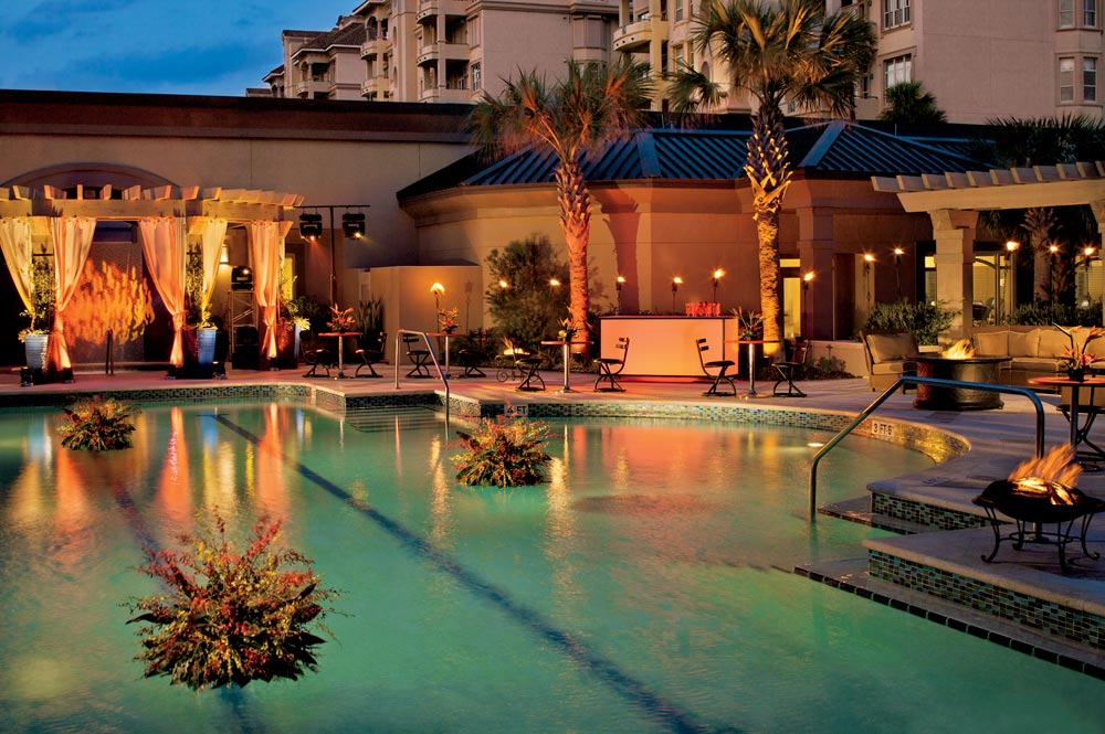 Pool Exterior at Ritz Carlton Amelia Island