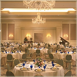 The Ritz-Carlton ballroom