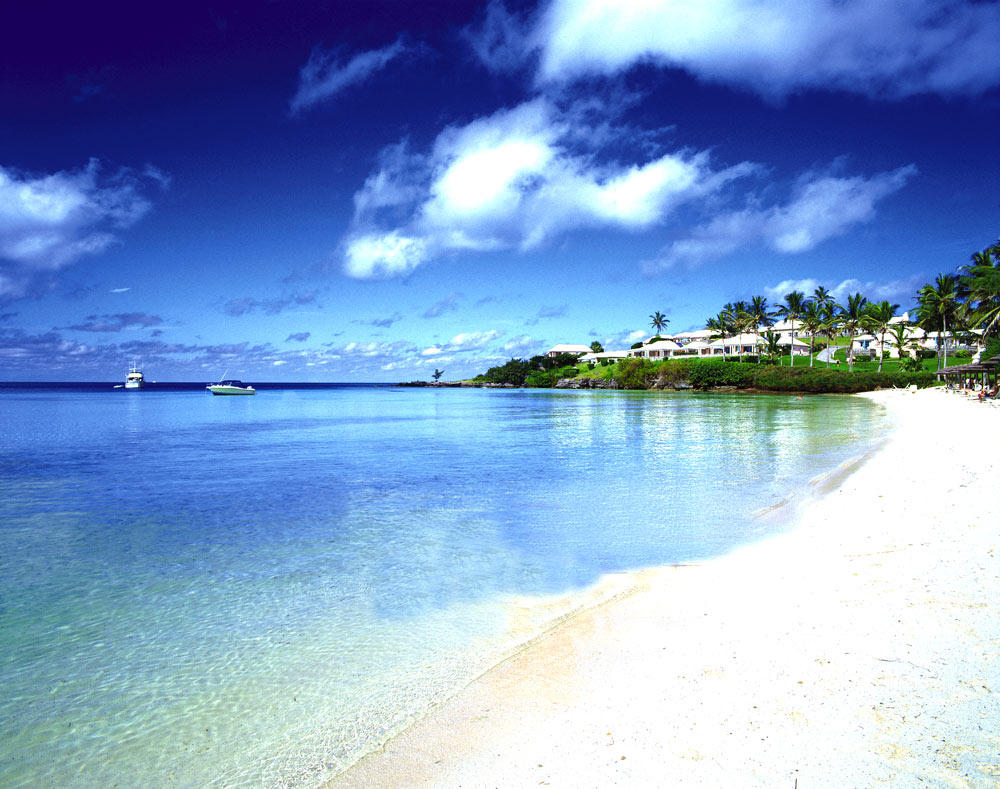 Hotel Exterior and Beach, Cambridge Beaches, Bermuda