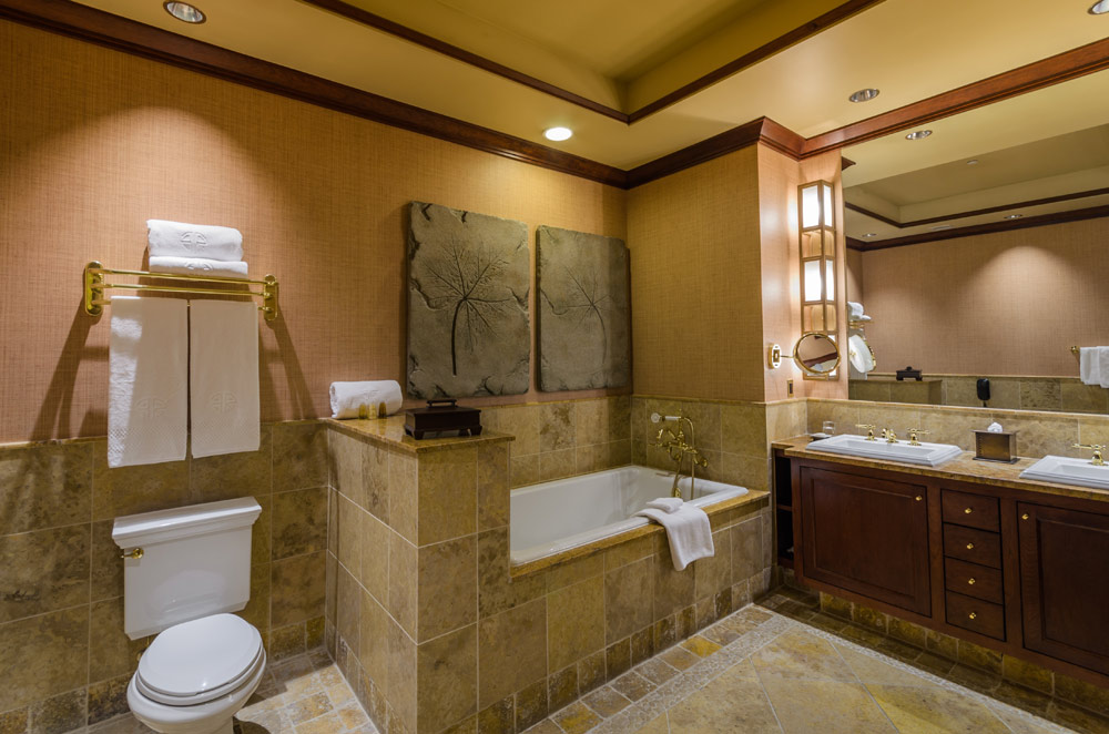 Luxury Double Bath at Nemacolin Woodlands Resort and Spa, Farmington, PA