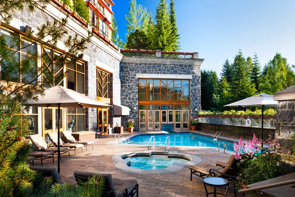 Outdoor Pool at The Westin Resort And Spa Whistler, BC, Canada