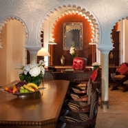 Royal Suite Dining Area at Al Qasr at Madinat Jumeirah Dubai