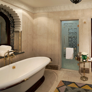 Superior Junior Suite Bath at Al Qasr at Madinat Jumeirah Dubai